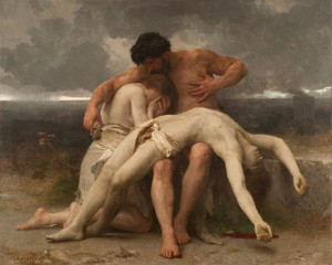 The First Mourning, by William-Adolphe Bouguereau [Public domain], via Wikimedia Commons