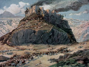 The Conquest of the Amorites by Tissot