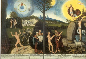 Law and Grace by Lucas Cranach the Elder [Public domain], via Wikimedia Commons