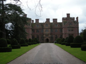 Condover Hall - the base for our school trip to Shropshire.
