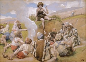 Joseph Reveals His Dream to His Brethren (watercolor circa 1896–1902 by James Tissot)