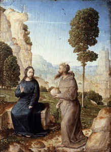 The Temptation of Christ in the Wilderness, by Juan de Flandes.